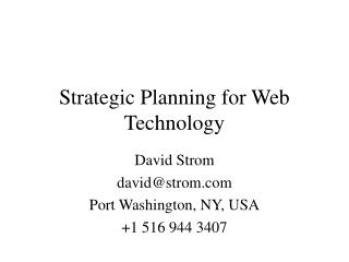 Key Making arrangements for Web Innovation