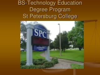 BS-Innovation Training Degree Program St Petersburg School