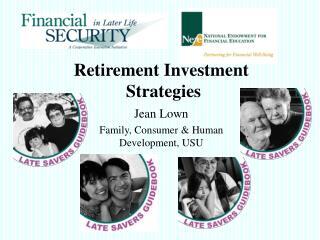 Retirement Speculation Techniques