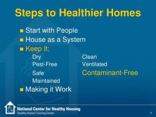 Ventures to More beneficial Homes