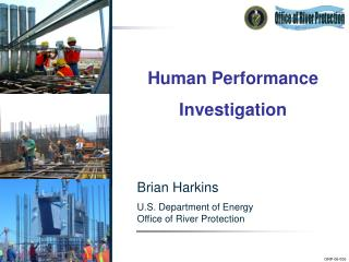 Brian Harkins U.S. Bureau of Vitality Office of Waterway Insurance