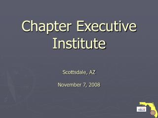 Section Official Organization Scottsdale, AZ November 7, 2008