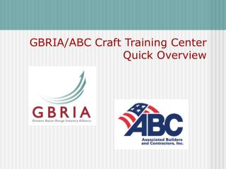 GBRIA/ABC Make Preparing Center Fast Review