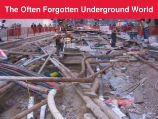 The Regularly Overlooked Underground World