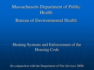Massachusetts Division of General Wellbeing Department of Natural Wellbeing