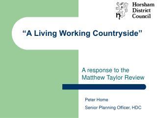 """""""A Living Working Farmland"""""""
