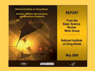 REPORT From the Essential Science Survey Work Bunch National Establishment on Medication Misuse May 2006