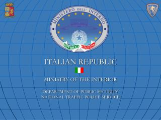 ITALIAN REPUBLIC Service OF THE Inside Bureau OF Open SECURITY NATIONAL Movement POLICE Administration