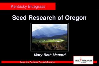 Seed Examination of Oregon