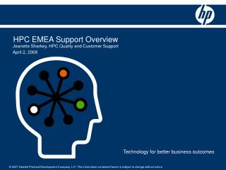 HPC EMEA Bolster Review