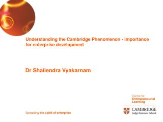 Understanding the Cambridge Wonder - Significance for big business advancement