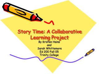 Story Time: A Collective Learning Venture