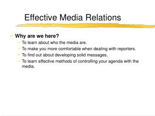 Compelling Media Relations