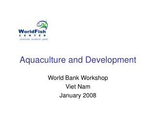 Aquaculture and Improvement