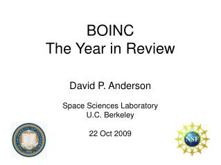 BOINC The Year in Survey
