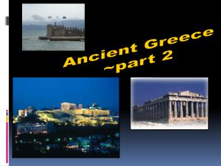 Antiquated Greece ~part 2
