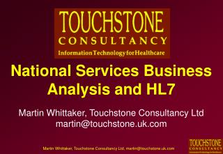 National Administrations Business Examination and HL7