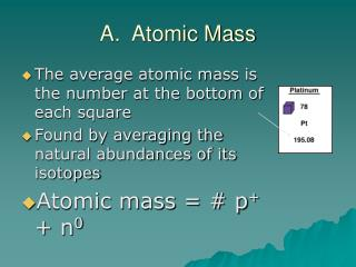 A. Nuclear Mass