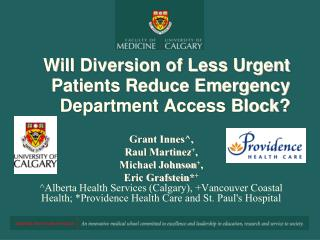 Will Redirection of Less Dire Patients Lessen Crisis Office Access Piece?
