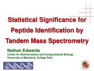 Measurable Centrality for Peptide Distinguishing proof by Coupled Mass Spectrometry