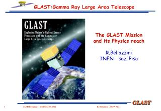 GLAST:Gamma Beam Vast Region Telescope
