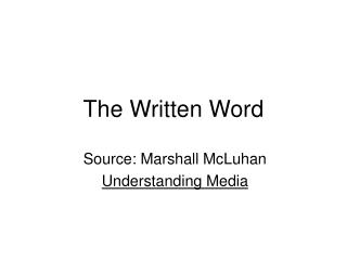 The Composed Word