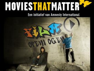 Introductie Motion pictures that Matter Motion pictures that Matter Educatie Lesmateriaal School Film Celebrations