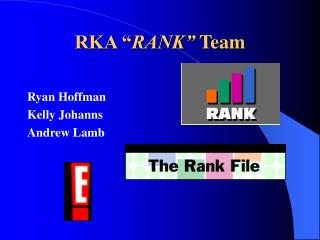 "RKA "" RANK"" Group"