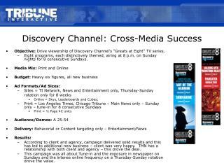 Disclosure Channel: Cross-Media Achievement