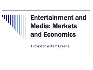 Stimulation and Media: Markets and Financial aspects