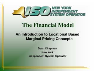 The Money related Model