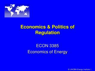 Financial aspects and Governmental issues of Regulation