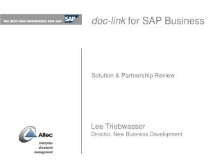 doc-join for SAP Business