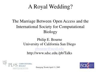 An Imperial Wedding? The Marriage Between Open Access and the Worldwide Society for Computational Science