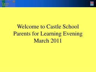Welcome to Palace School Folks for Learning Evening Walk 2011