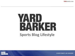 Sports Blog Way of life