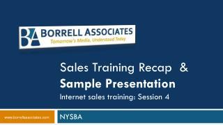 Deals Preparing Recap and Test Presentation Web deals preparing: Session 4
