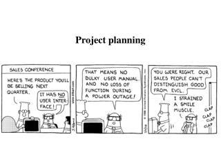 Venture arranging