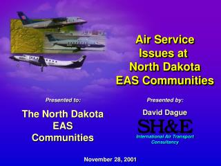 Air Administration Issues at North Dakota EAS Groups