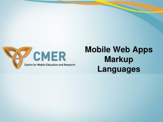 Versatile Web Applications Markup Dialects