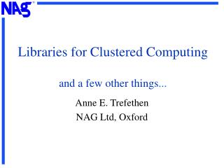 Libraries for Grouped Registering and a couple of different things ...