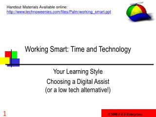 Working Savvy: Time and Innovation