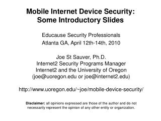 Versatile Web Gadget Security: Some Initial Slides