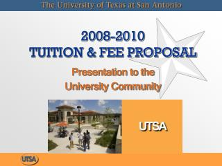2008-2010 Educational cost and Expense Proposition
