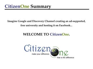 Envision Google and Revelation Channel making a promotion bolstered, free college and facilitating it on Facebook... WEL