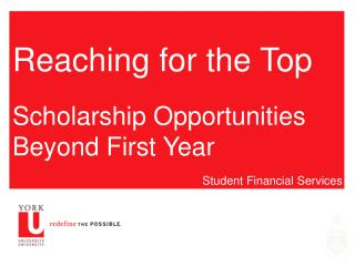 Going after the Top Grant Opportunities Past First Year