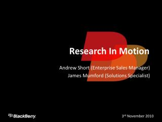Research In Movement