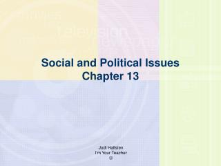 Social and Political Issues Part 13