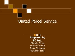 United Package Administration