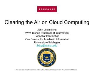 Dispelling any confusion Air on Distributed computing